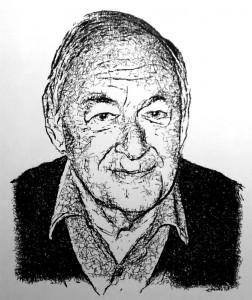Portrettekening JF dor Epenko