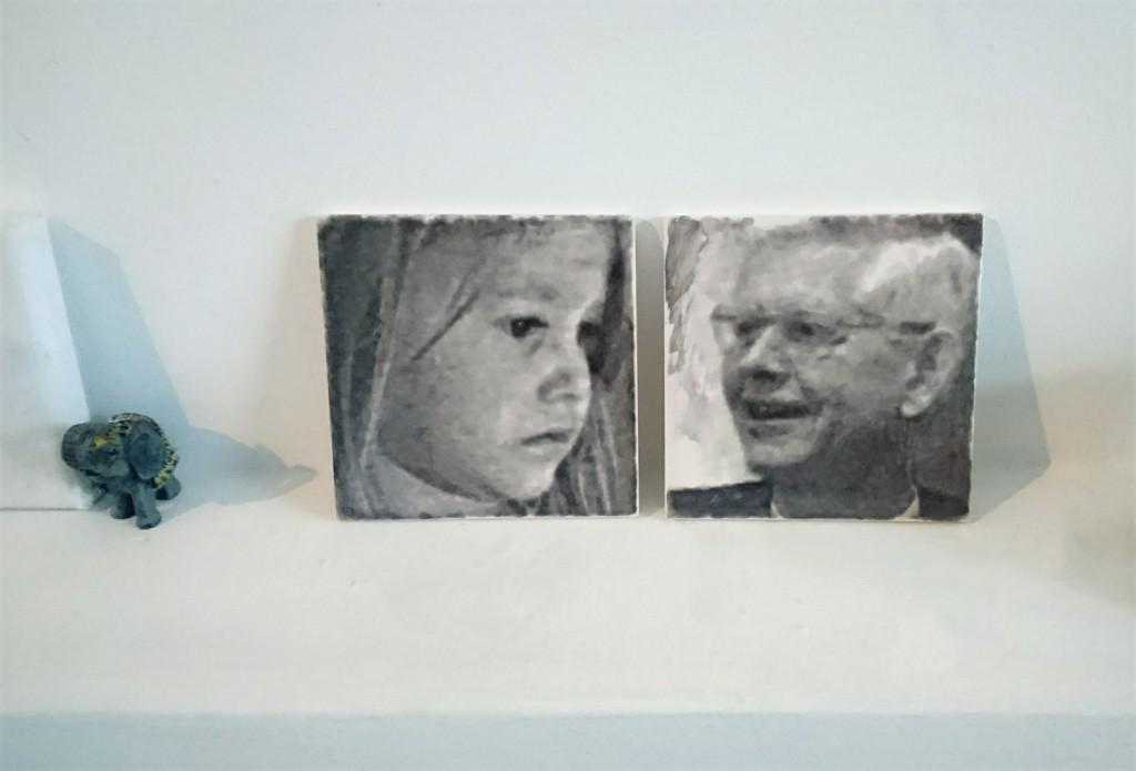 Tegelportret, portrettegel door Epenko